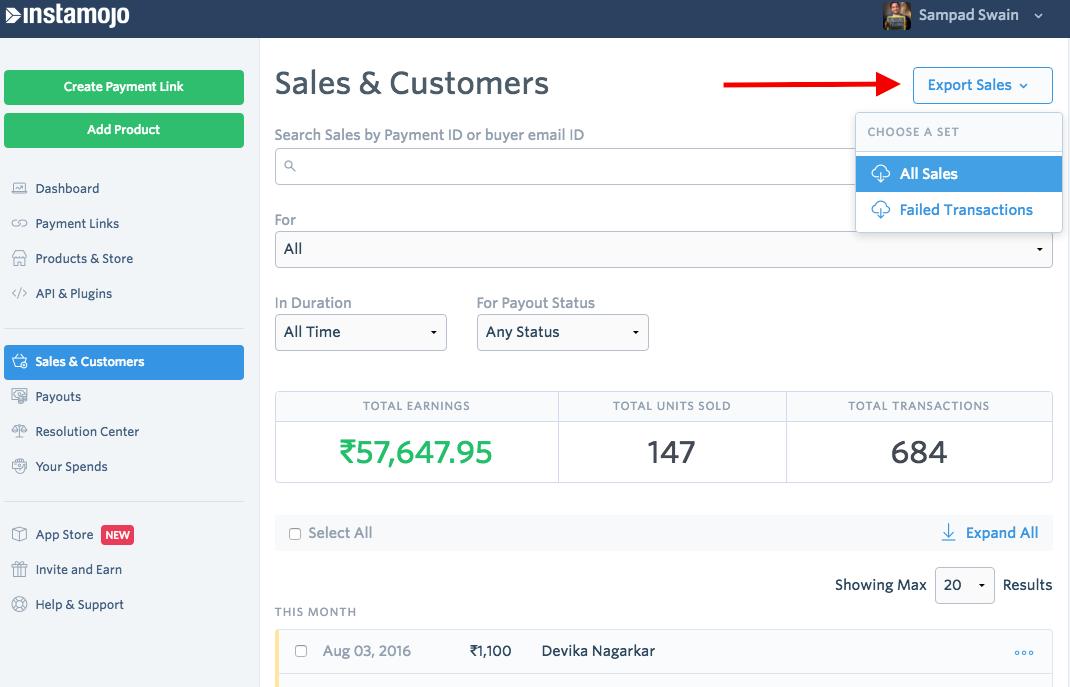 salesreport